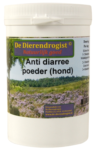 Dierendrogist diarree poeder hond