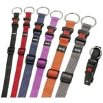 Karlie halsband sport plus verstelbaar zwart (15 MMX30-45 CM)