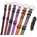 Karlie halsband sport plus verstelbaar zwart (25 MMX45-65 CM)