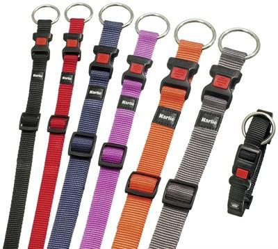 Karlie halsband sport plus verstelbaar zwart (40 MMX55-75 CM)