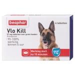 Beaphar vlo kill+ grote hond vanaf 11 kg (6 TABLETTEN)