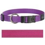 Rogz for dogs lumberjack halsband roze (25 MMX43-73 CM)