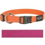 Rogz for dogs fanbelt halsband roze (20 MMX34-56 CM)