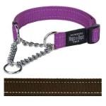 Rogz for dogs fanbelt choker choco (20 MMX34-56 CM)
