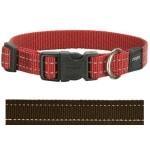 Rogz for dogs snake halsband choco (16 MMX26-40 CM)
