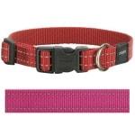 Rogz for dogs snake halsband roze (16 MMX26-40 CM)