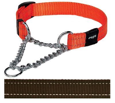 Rogz for dogs snake choker choco (16 MMX32-44 CM)