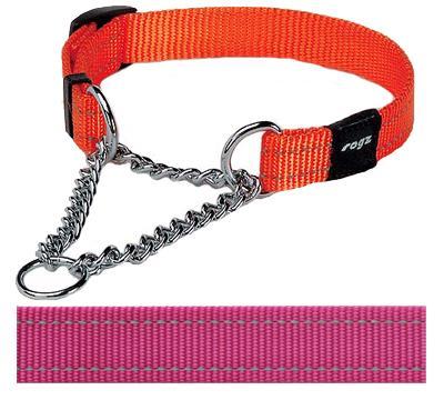 Rogz for dogs snake choker roze (16 MMX32-44 CM)
