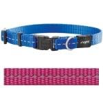 Rogz for dogs nitelife halsband roze (11 MMX20-32 CM)