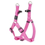 Rogz for dogs snake step-in tuig roze (16 MMX42-61 CM)