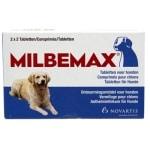 Milbemax tablet ontworming hond (LARGE 2X2 TABL)