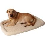 Ligmat voor bench / draadkooi comfort ivoor (55X35 CM)