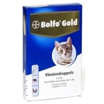 Bolfo gold kat vlooiendruppels (40 4 PIPET)