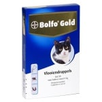 Bolfo gold kat vlooiendruppels (80 4 PIPET)