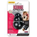 Kong extreme zwart (SMALL 4,5X4,5X7,5 CM)