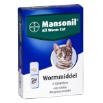 Mansonil kat all worm tabletten (4 ST)