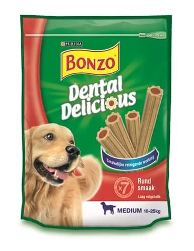 Bonzo dental delicious rund smaak