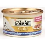 Gourmet gold luxe mix zeevis in saus met spinazie (24X85 GR)