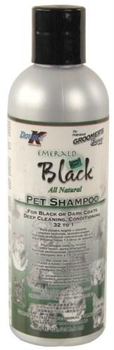 Double k emerald black shampoo 1:32 zwarte vacht (237 ML)