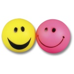 Happy pet vinyl smiley bal (6,5X6,5X6,5 CM)