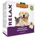 Biofood relax hond/kat rustgevend/kalmerend (100 ST)