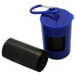 Happy pet poop bag dispenser 2×20 st gratis zakjes (7X4,5X5 CM 2X20 ZAKJES)