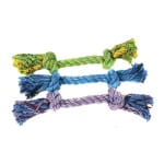 Happy pet flossin fun 2 knoop (SMALL 28X6X6 CM)