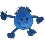 Happy pet happy faces pluche smiley blauw (29X26X8 CM)