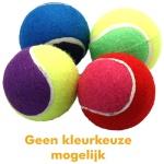 Happy pet tennisbal assorti 4 stuks (6,5X6,5X6,5 CM)