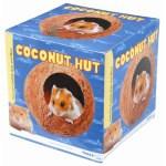 Happy pet coconut hut (12X11X11 CM)