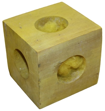 Happy pet knaaghout cube (9,5X9,5X9,5 CM)