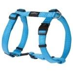 Rogz for dogs fanbelt tuig turquoise (20 MMX45-75 CM)