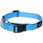 Rogz for dogs lumberjack halsband turquoise (25 MMX43-73 CM)