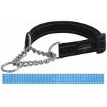 Rogz for dogs lumberjack donker turquoise (25 MMX43-73 CM)