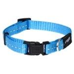 Rogz for dogs nitelife halsband turquoise (11 MMX20-32 CM)