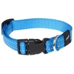 Rogz for dogs snake halsband turquoise (16 MMX26-40 CM)