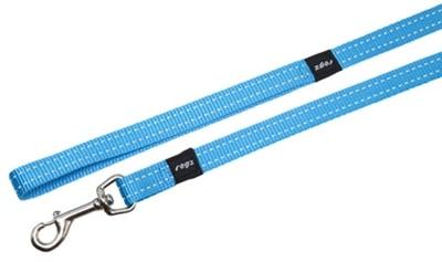 Rogz for dogs snake lijn turquoise (16 MMX1,4 MTR)