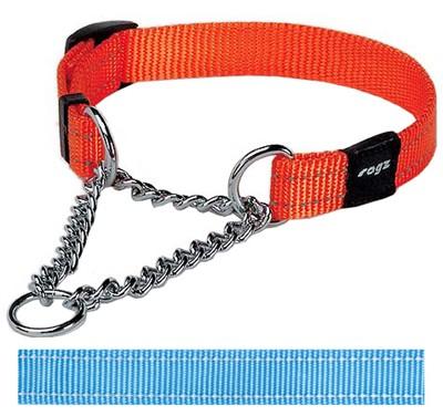 Rogz for dogs snake choker turquoise (16 MMX32-44 CM)