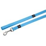 Rogz for dogs snake long lijn turquoise (16 MMX1,8 MTR)