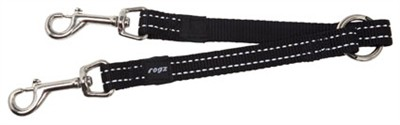 Rogz for dogs snake splitter zwart (16 MMX23 CM)