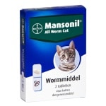 Mansonil kat all worm tabletten (2 ST)