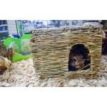 Happy pet grassy hideaway verstopplek (LARGE 36X27X18 CM)