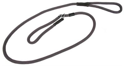 Hunter retrieverlijn met stop freestyle grijs (10 MMX170 CM)
