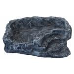Komodo voerbak terraced grijs (LARGE)