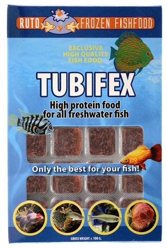 Ruto red label tubifex (100 GR)