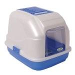 Imac kattenbak easy cat blauw (50X40X40 CM)