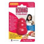 Kong classic rood (XS 3,5X3,5X5,5 CM)