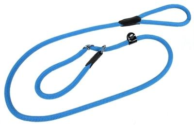 Hunter retrieverlijn met stop freestyle turquoise (10 MMX170 CM)