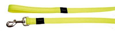 Rogz for dogs fanbelt long lijn geel (20 MMX1,8 MTR)