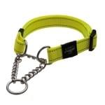 Rogz for dogs fanbelt choker geel (20 MMX34-56 CM)